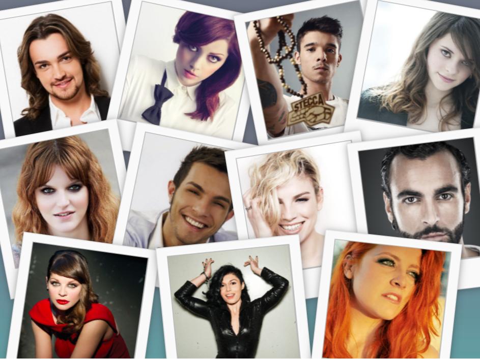 sfida talent show i dieci cantanti dei talent di maggiore