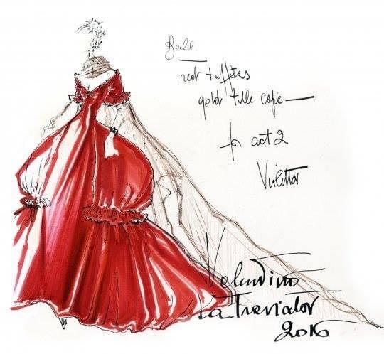 wholesale dealer be5de a0ecb Valentino all'Opera: il costume di scena è alla moda - Snap ...