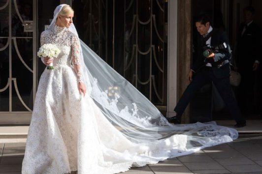 newest c676e 352f0 Abiti da sposa: le celebrities scelgono il Made In Italy ...