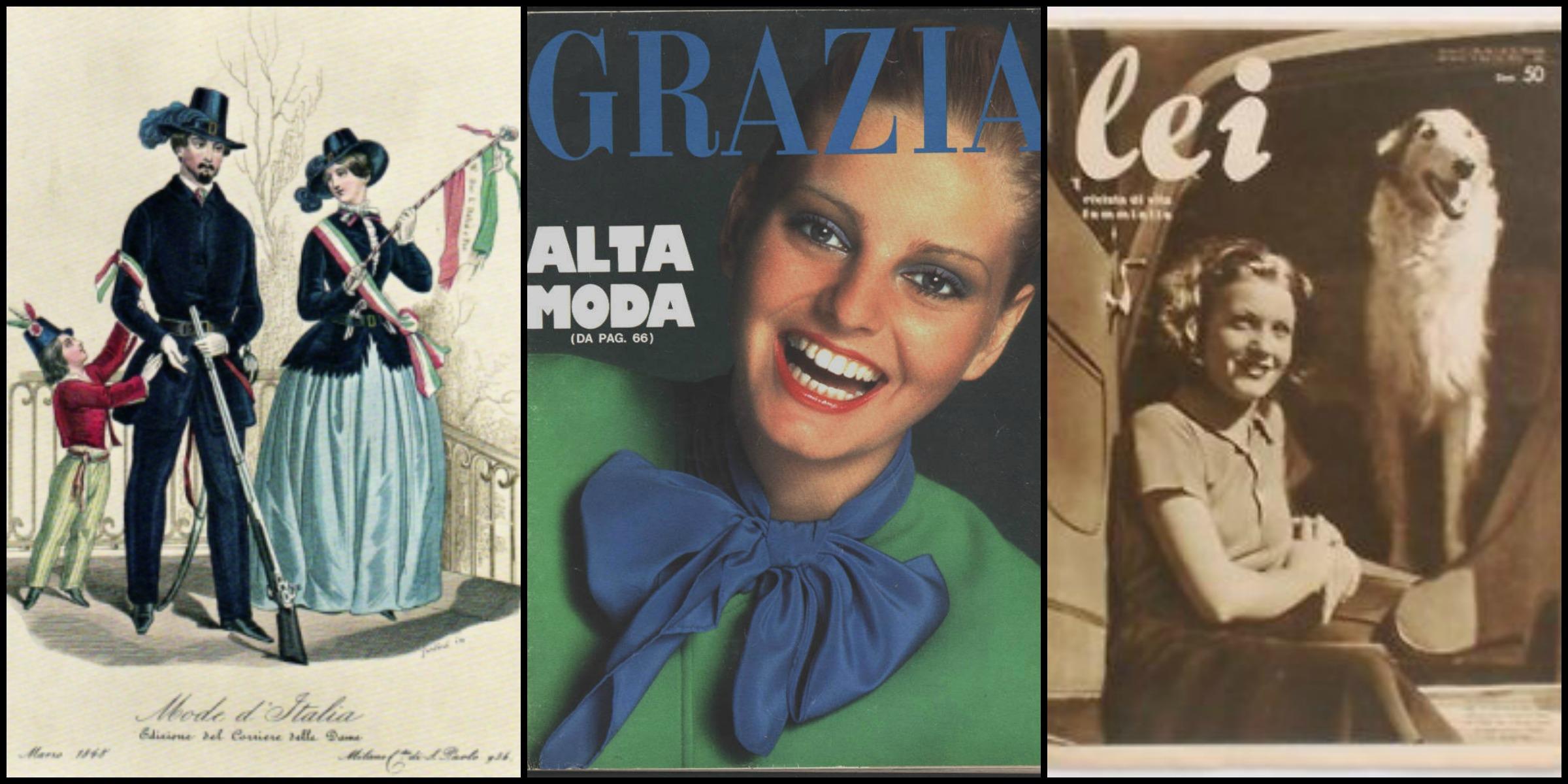 Riviste di moda italiane la storia nascosta tra i for Riviste di design
