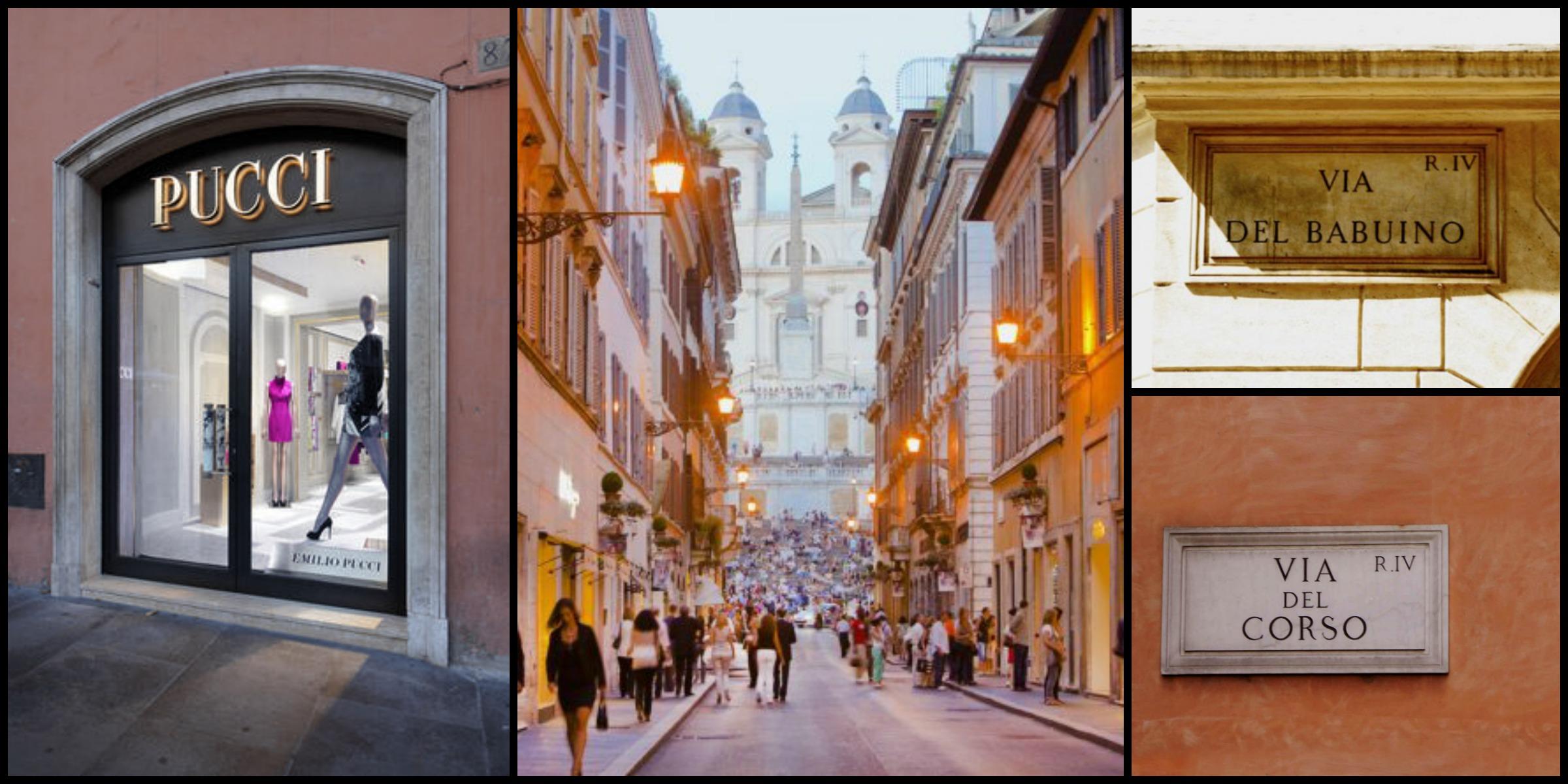 Shopping a Roma