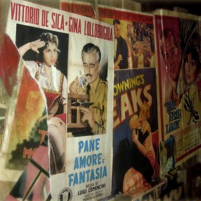 Locandine cinematografiche negozi per gli amanti del cinema