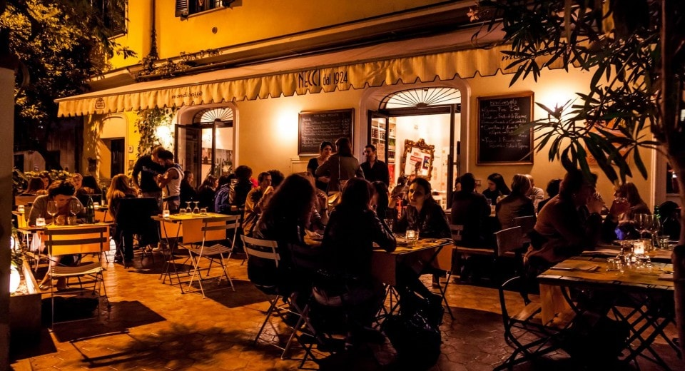 famous restaurants in Rome