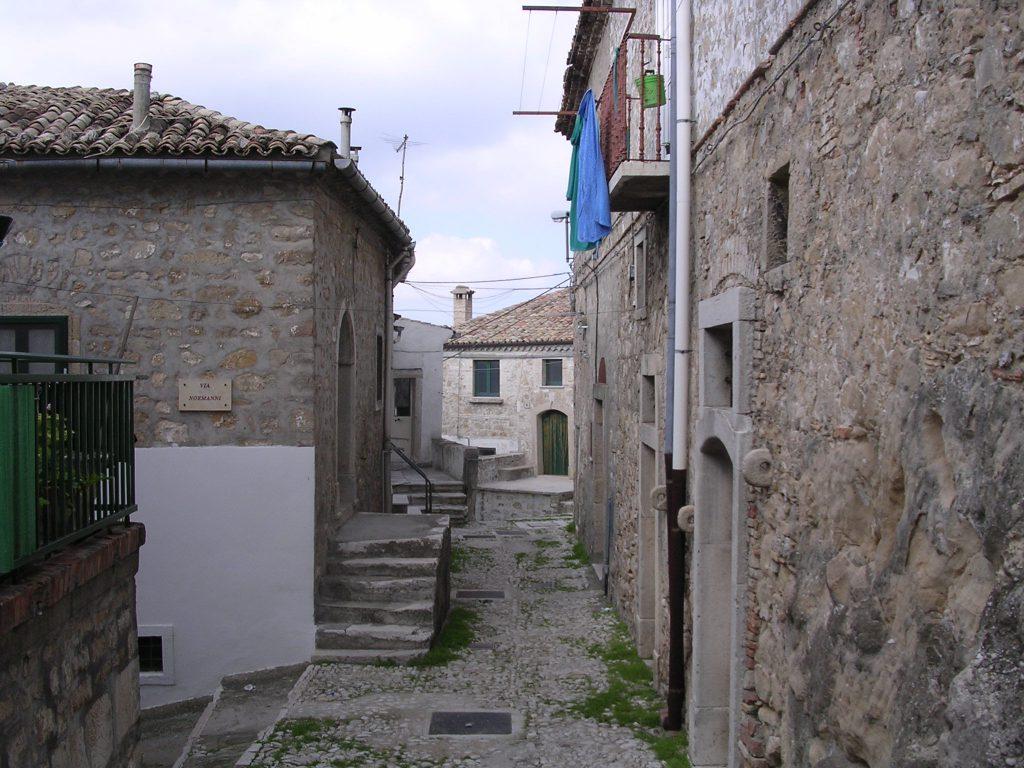Bovino centro storico