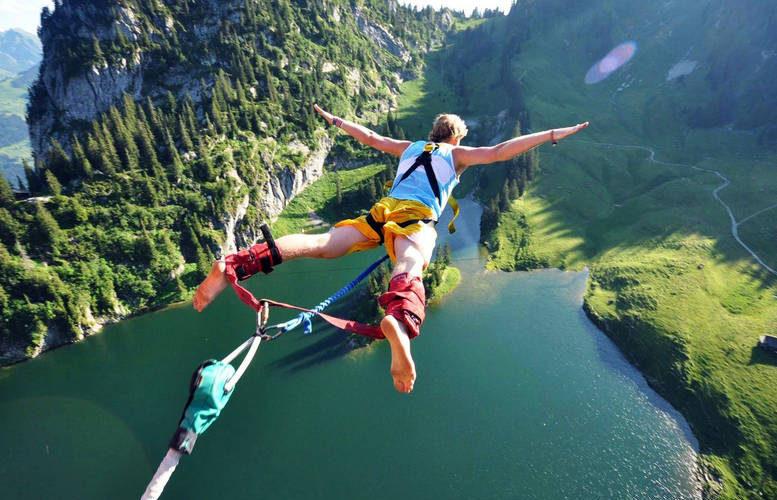 bungee jumping italia