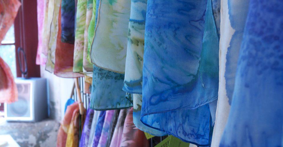 sciarpe di seta