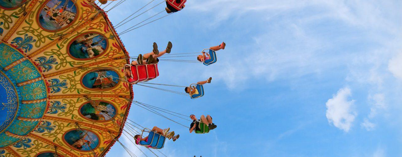 Parchi divertimento amusement park in Italy