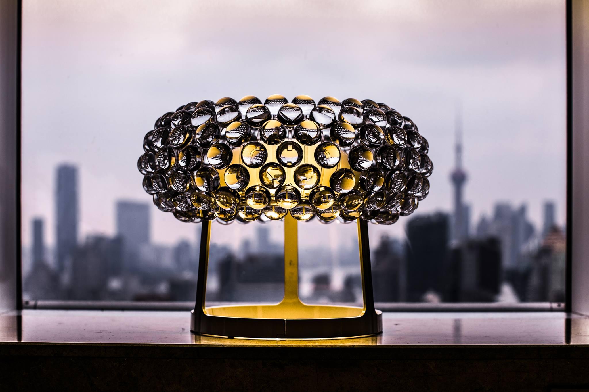 Marche lampade di design led net circolare soffitto artemide