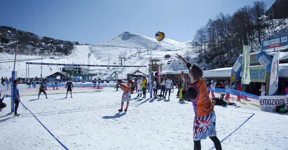 snow volley tour