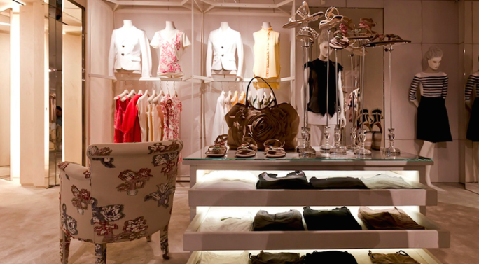 italian luxury boutique