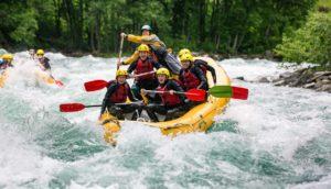 rafting in Italia