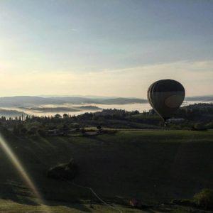 Balloning in Tuscany