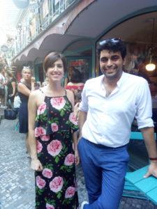 Andrea d'Addio e Sara Trovatelli