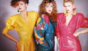 vestiti vintage look anni 80