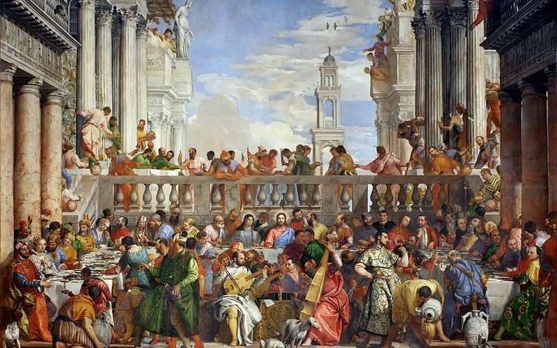 opere italiane al Louvre