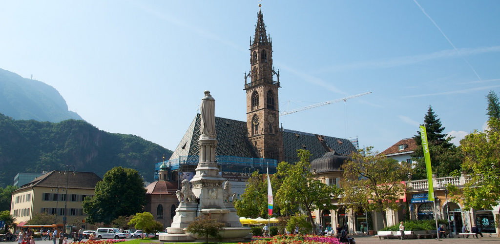 Bolzano città verde