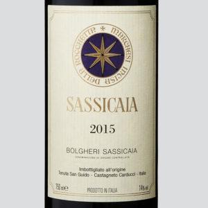 Sassicaia 2015