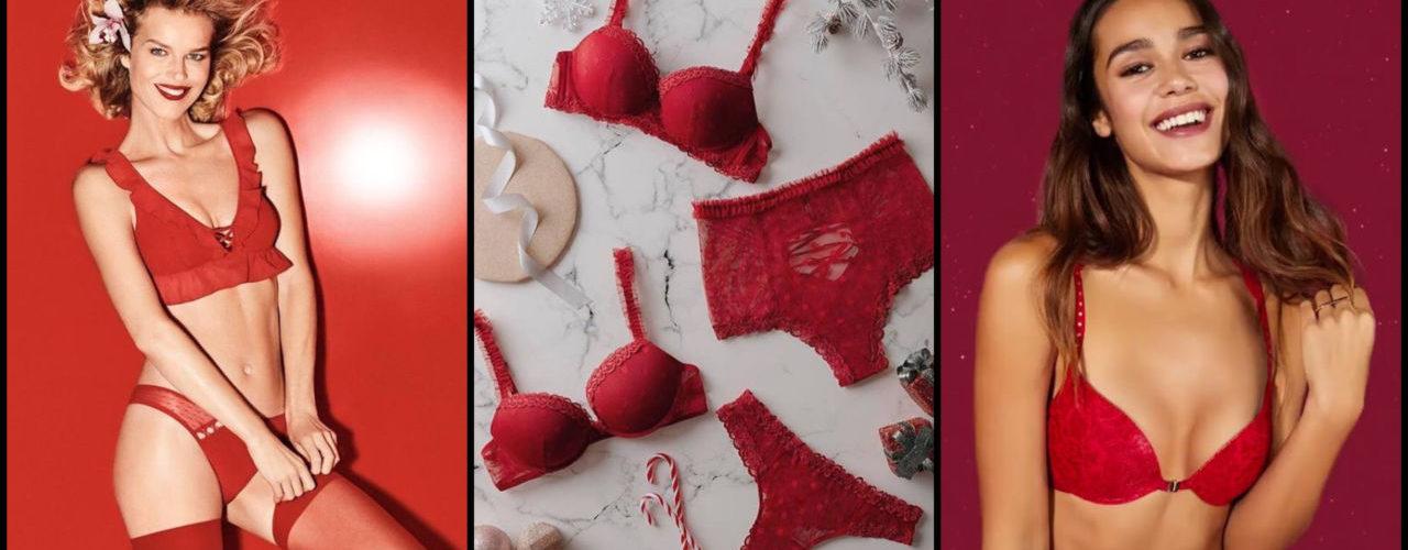 lingerie natalizia