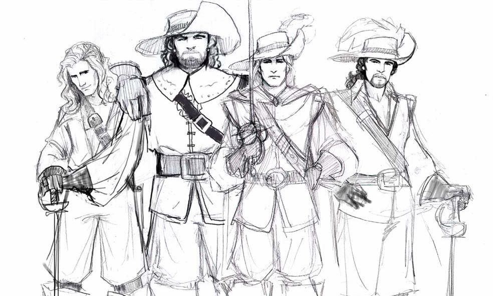 moschettieri del re