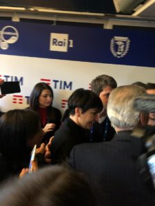 Conferenza stampa arisa