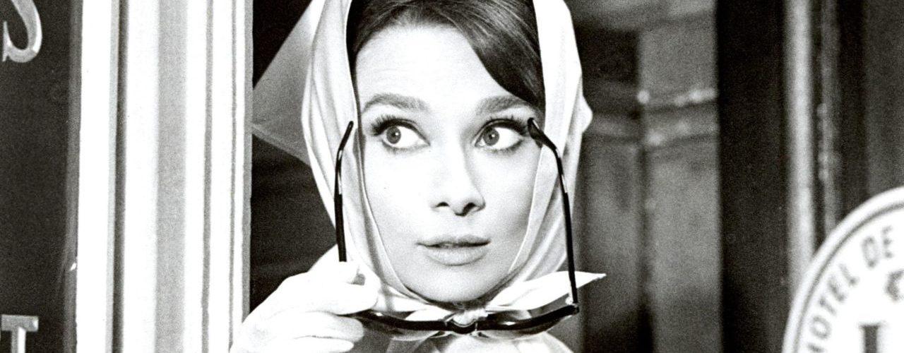 Audrey Hepburn foulard sciarpe made in italy