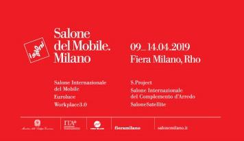 Salone del Mobile 2019 locandina