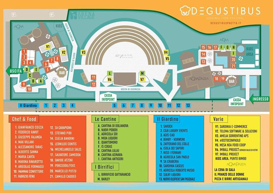 Mappa di DeGustibus2019