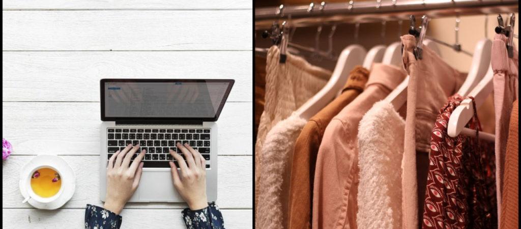 709bf747be93 Negozio di moda o shopping online? La sfida a colpi di acquisti ...