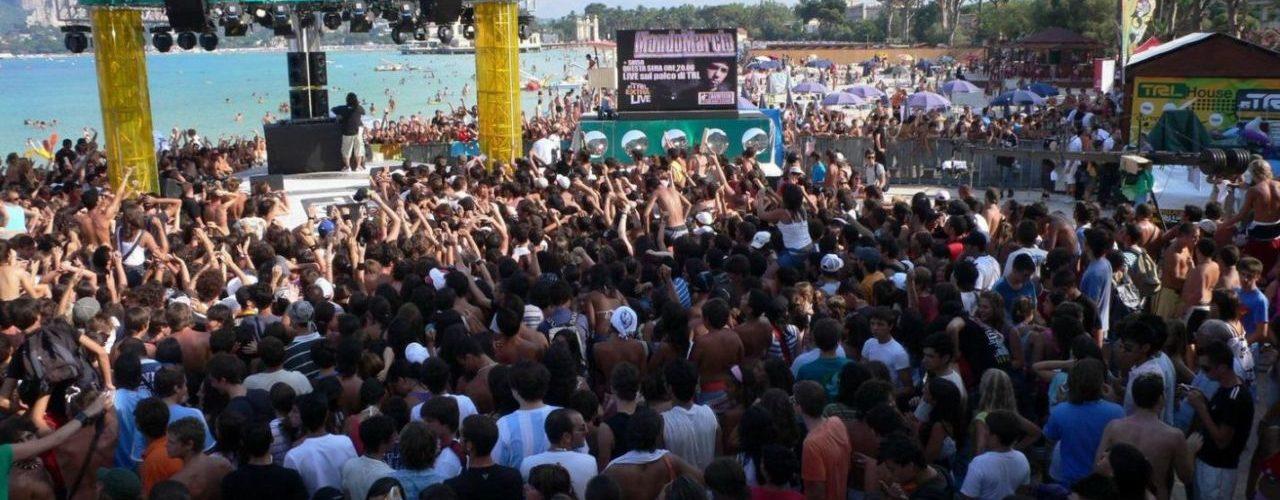 TRL MTV ITALIA pubblico in piazza