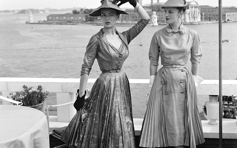 Intramontabili eleganze dior a venezia venice 1951 mostra villa pisani