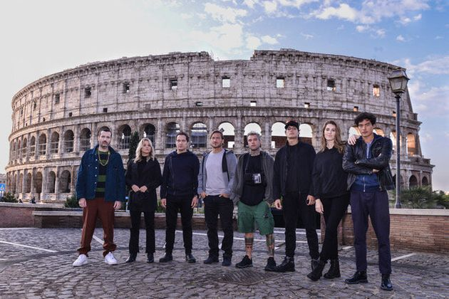 celebrity hunted nuovo reality fedez francesco totti