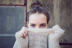 maglione a collo alto