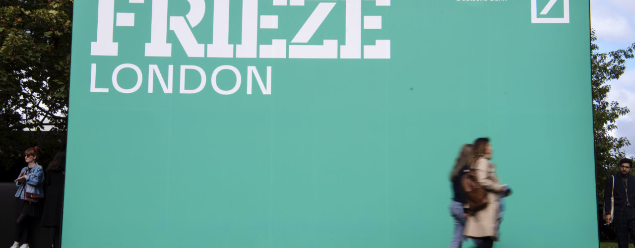 FRIEZE ART FAIR 2019 LONDON LONDRA